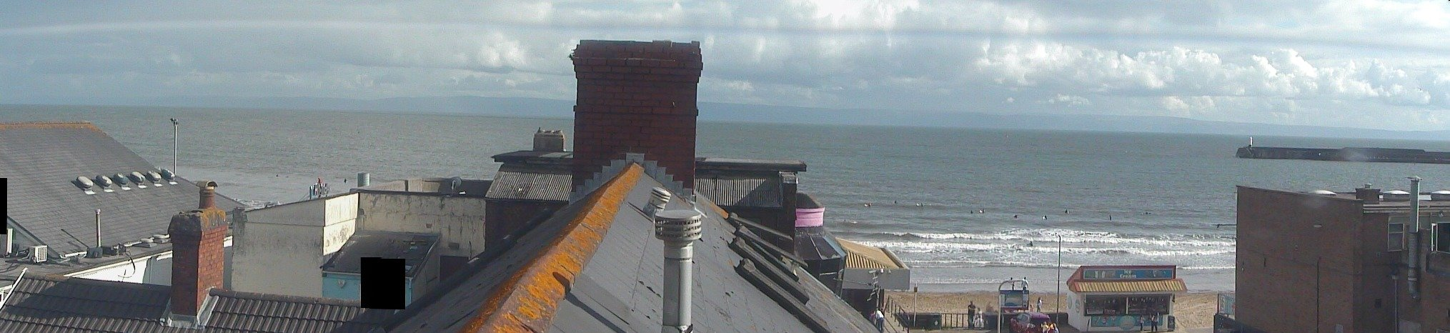 Webcam mais recente para Porthcawl - Coney Beach
