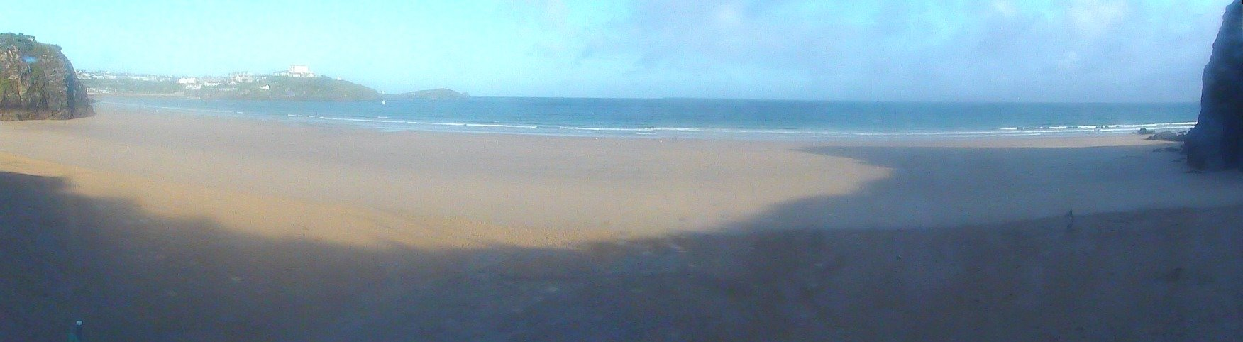 Webcam mais recente para Newquay - Tolcarne Wedge