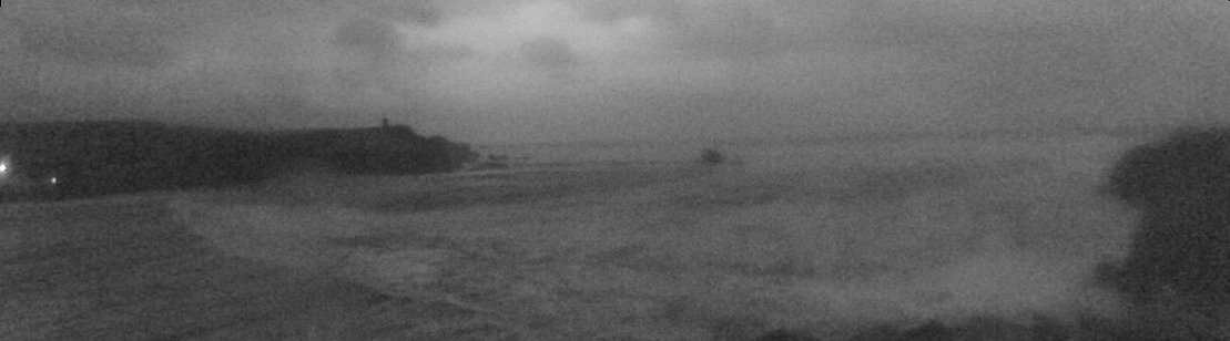 Latest webcam still for Bude - Crooklets