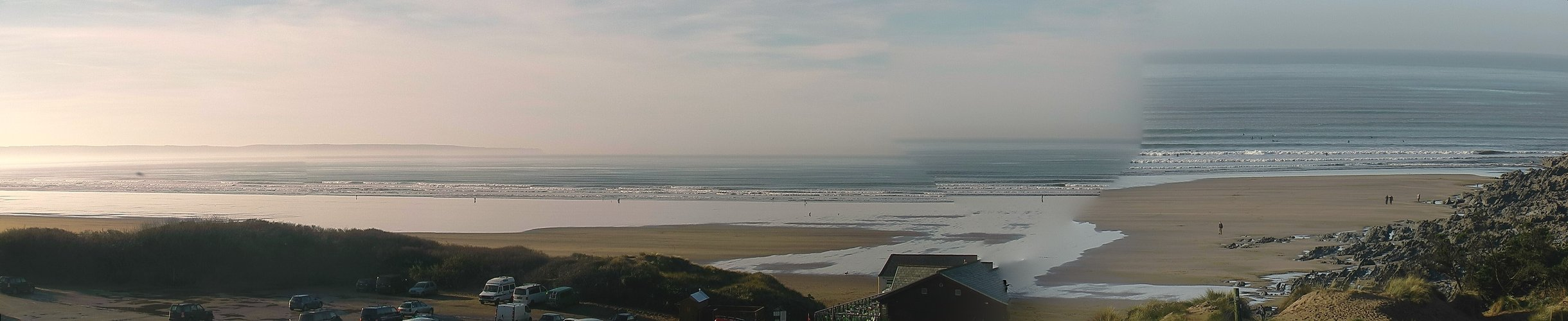Latest webcam still for Saunton Sands