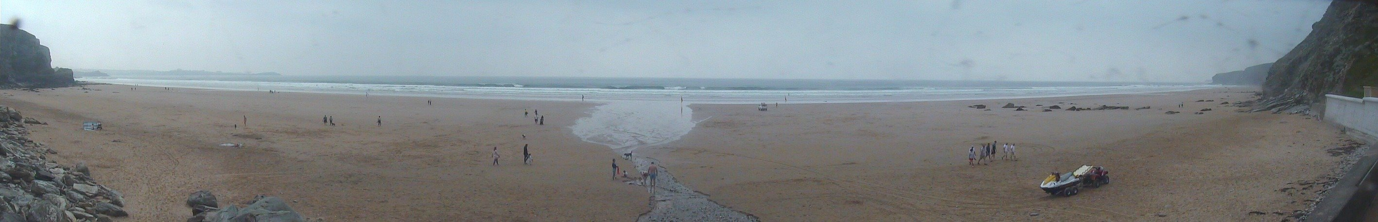 Latest webcam still for Watergate Bay