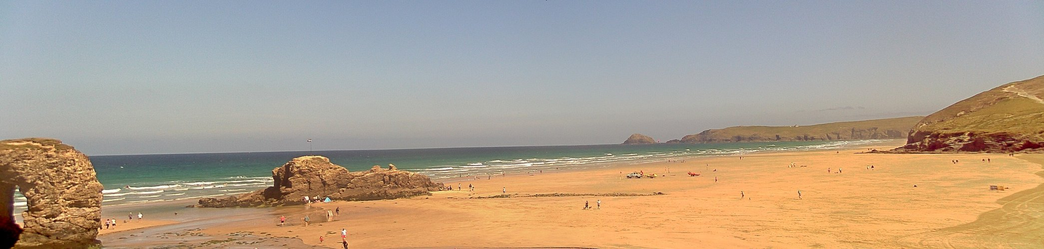 Latest webcam still for Perranporth (Droskyn)