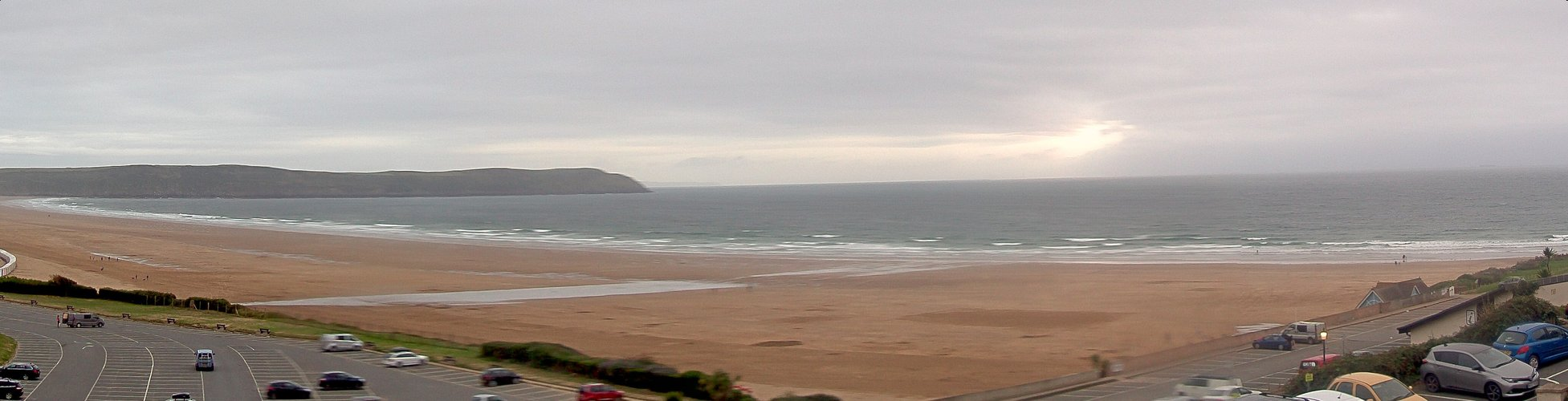 Latest webcam still for Woolacombe