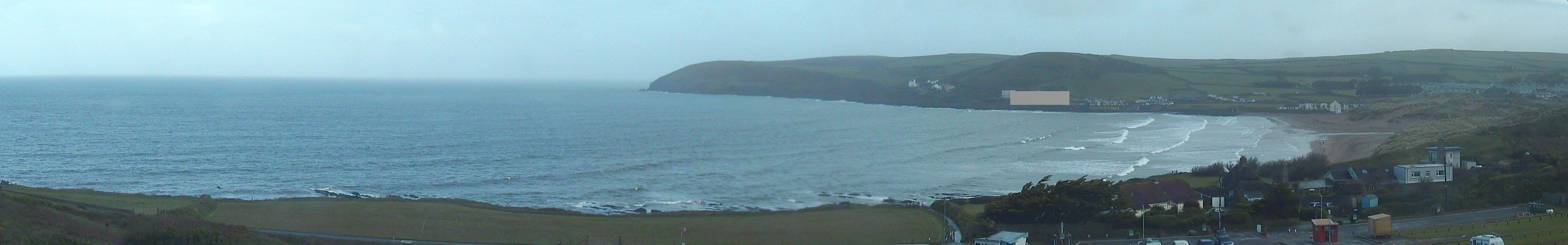 Latest webcam still for Croyde Beach