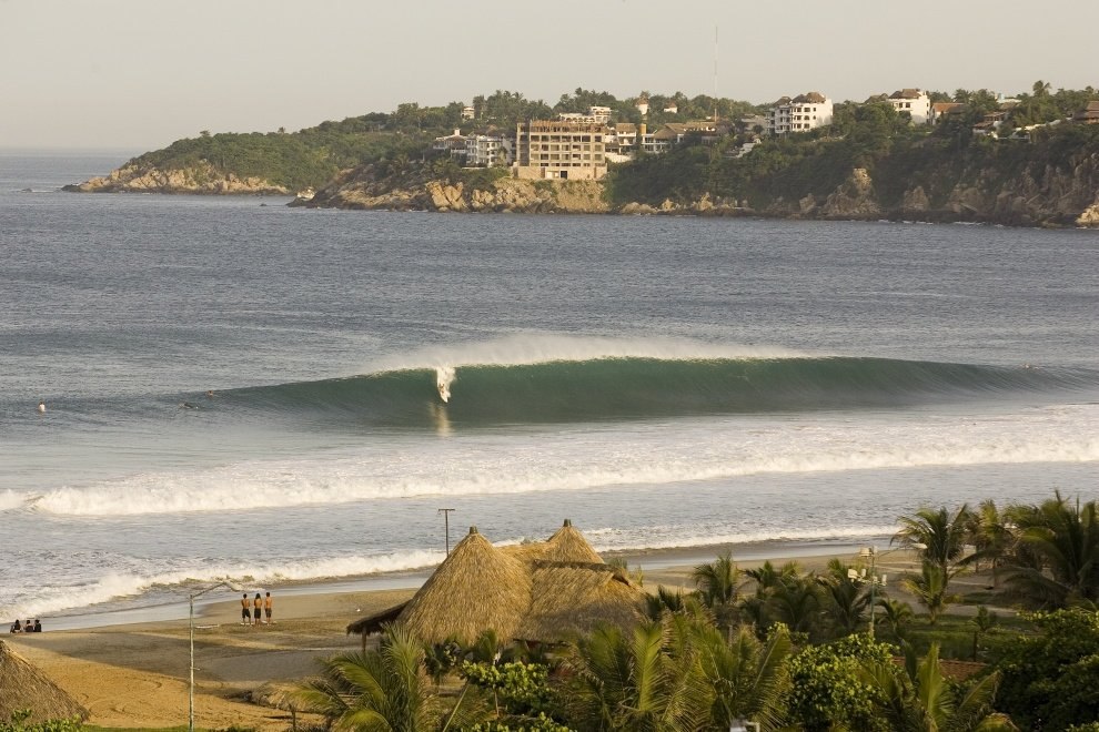 Shultz's photo of Puerto Escondido