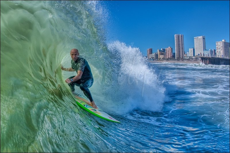 Mike van Heerden's photo of Durban