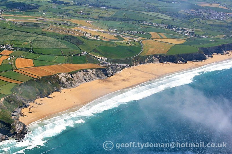 Geoff Tydeman's photo of Watergate Bay