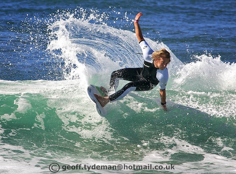 Geoff Tydeman's photo of Newquay-  Little Fistral