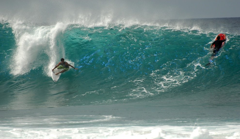 Brandon van Baggen's photo of Pipeline & Backdoor