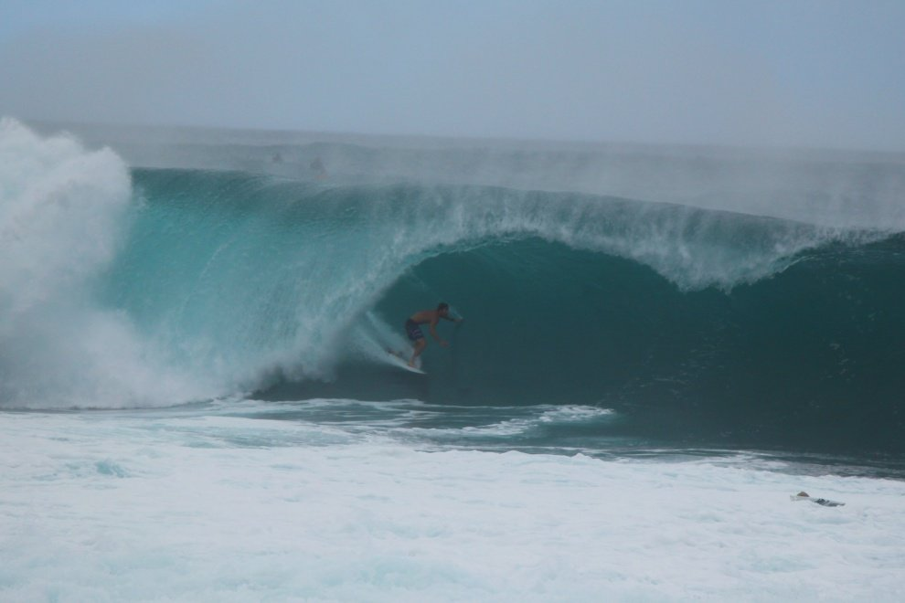 B. Governale 's photo of Pipeline & Backdoor