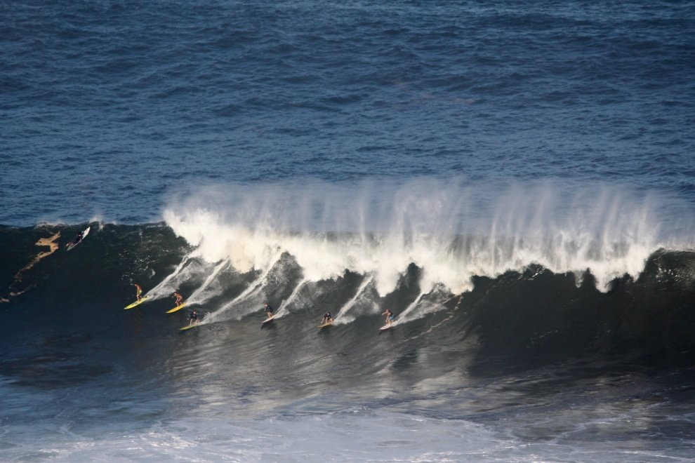 B. Governale 's photo of Waimea Bay
