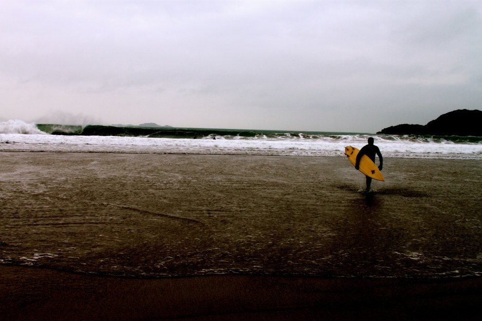 Cameron Parker's photo of Whitesands Bay