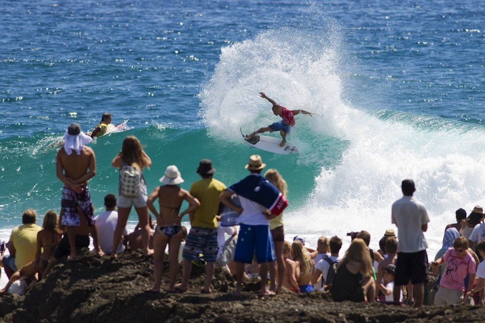 MSW World Tour TV's photo of Snapper Rocks