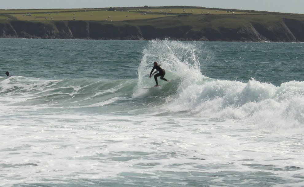 thorpe's photo of Whitesands Bay