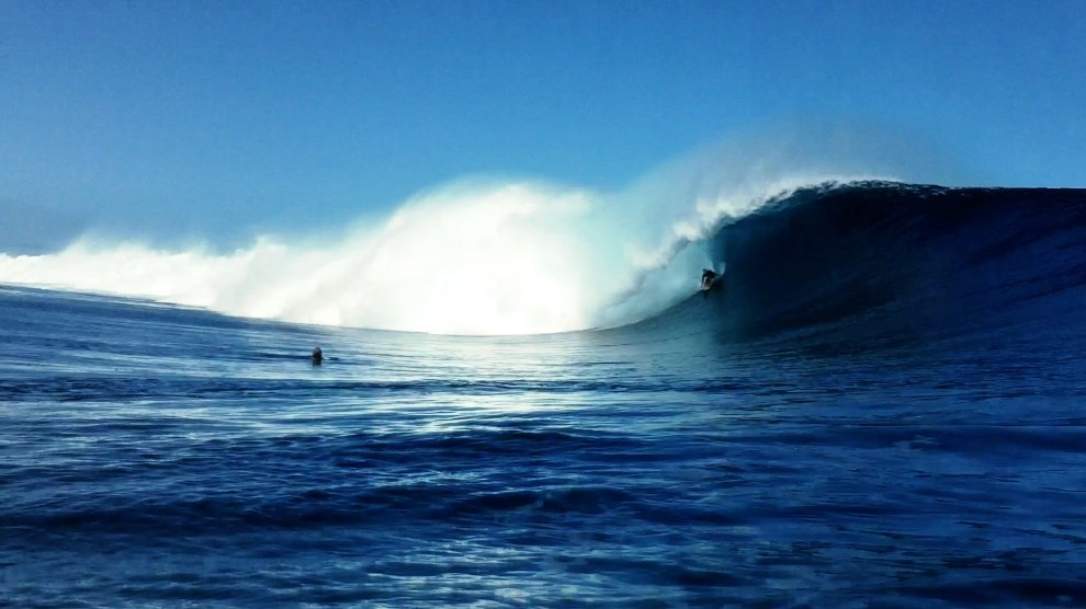 Chalk's photo of Tavarua - Cloudbreak