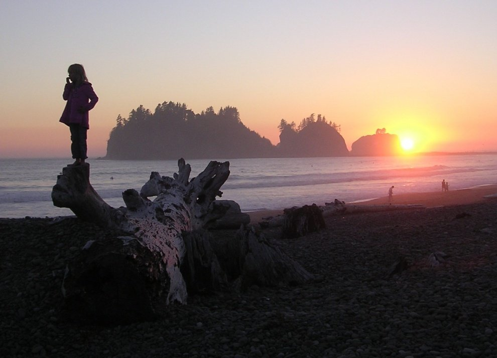 Larsman's photo of La Push