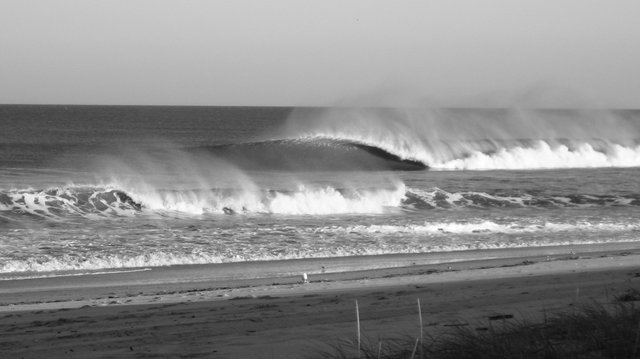 New Jersey Shore Waves pre-Hurricane Irene