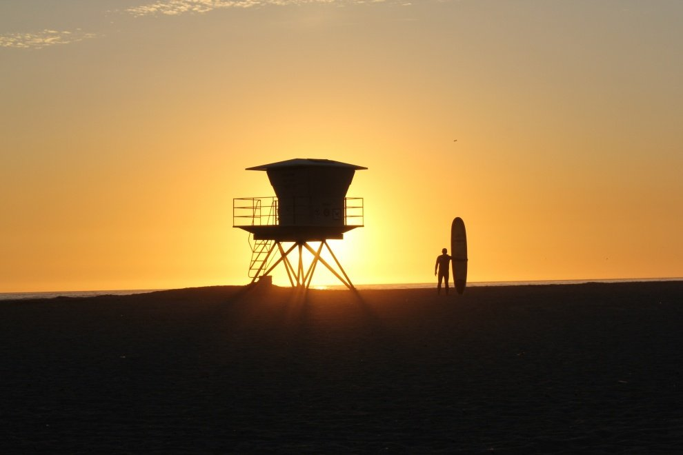 Leo McCrea's photo of Trestles