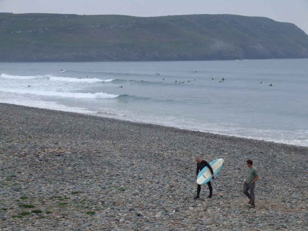 David Major Jetson Surfboards's photo of Hells Mouth (Porth Neigwl)