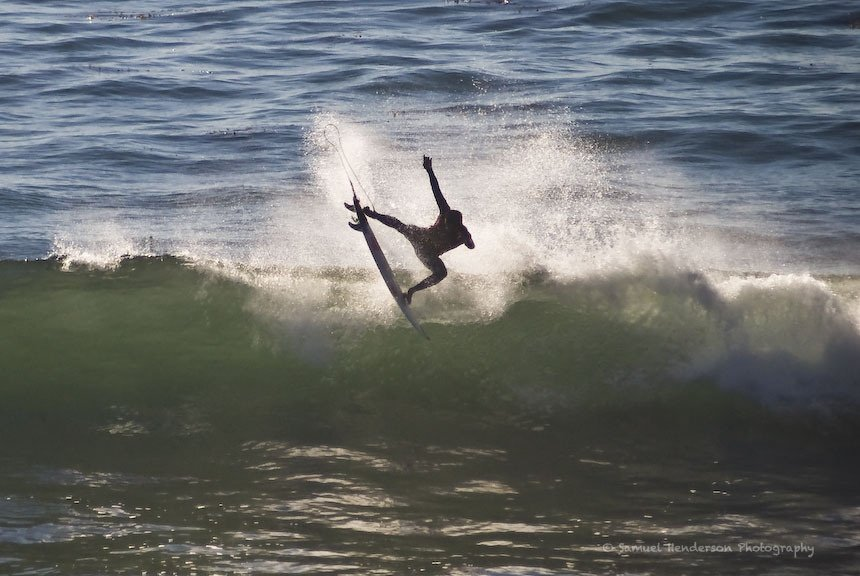 Samuel Henderson's photo of Steamer Lane