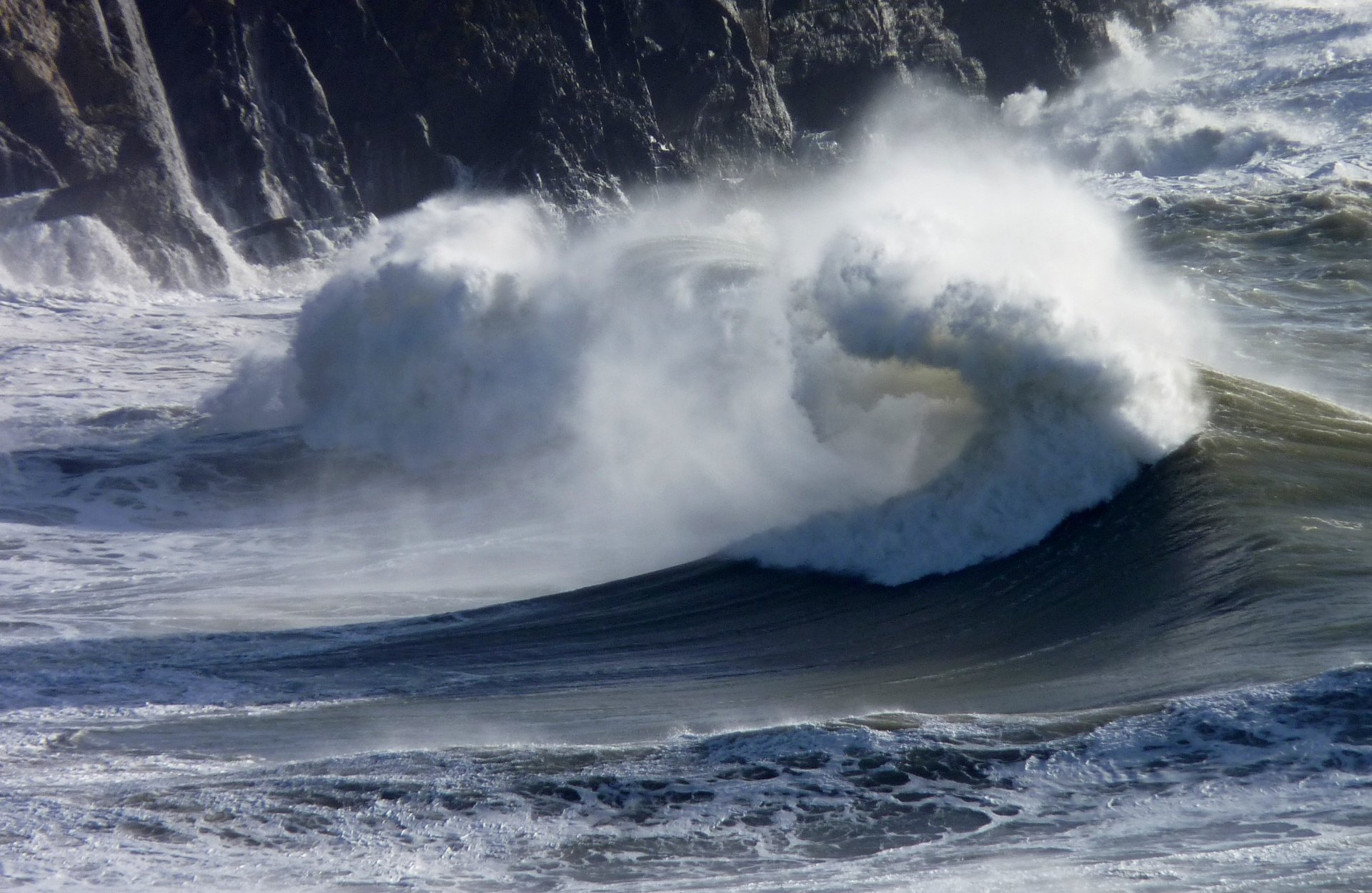 Mark Green's photo of Hells Mouth (Porth Neigwl)
