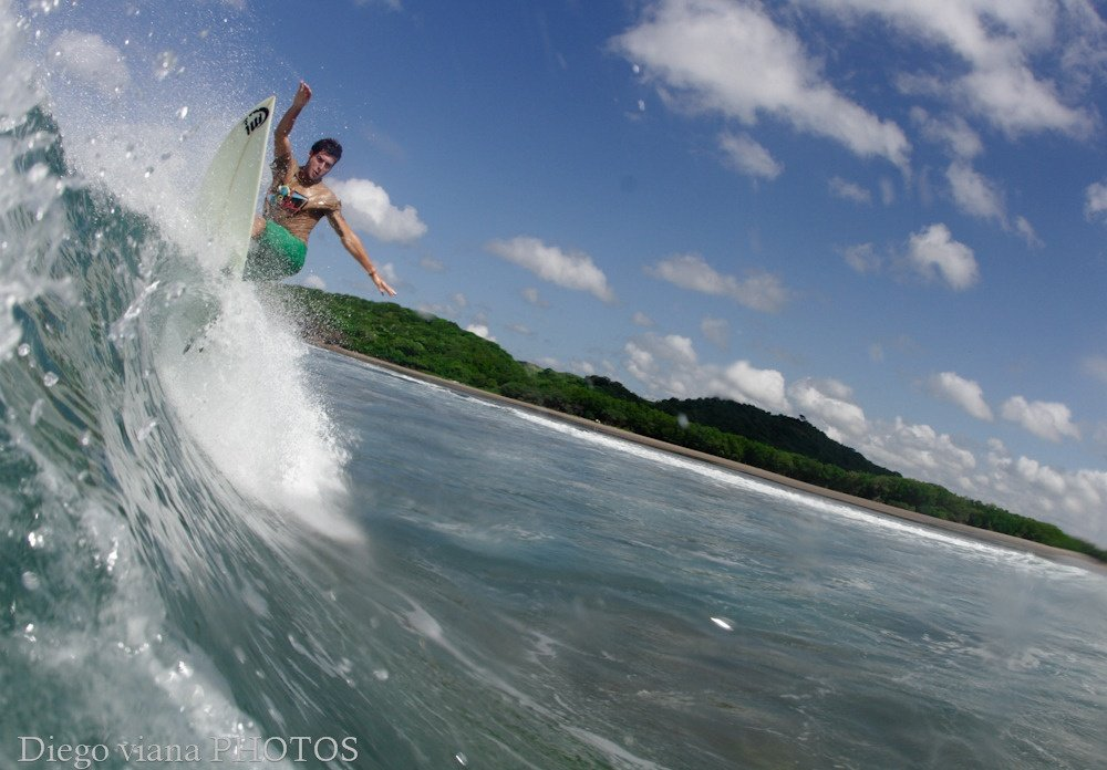 Surfer Junior Silveira 's photo of Popoyo