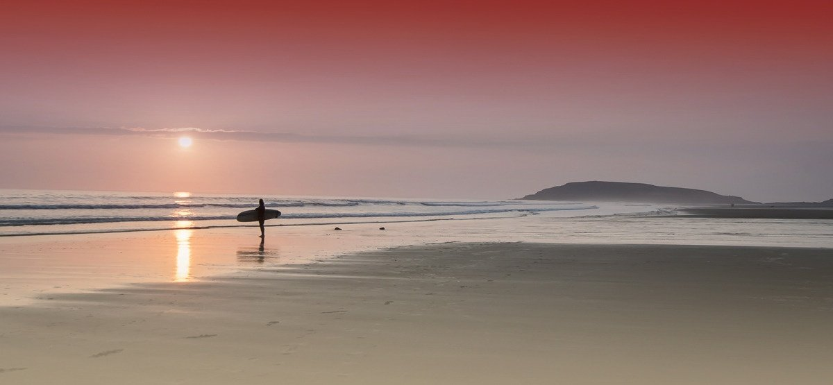 Karl Baker's photo of Llangennith