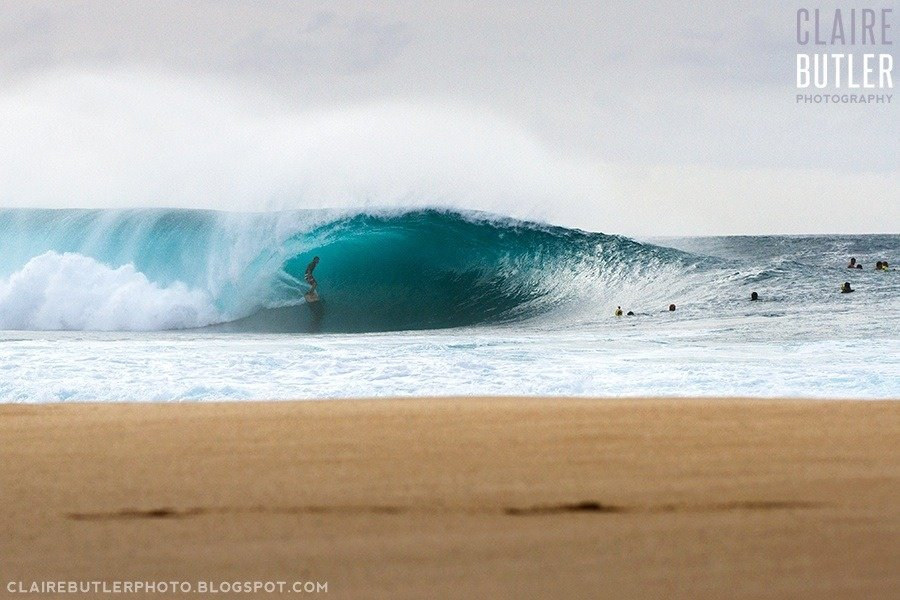 Claire Butler's photo of Pipeline & Backdoor