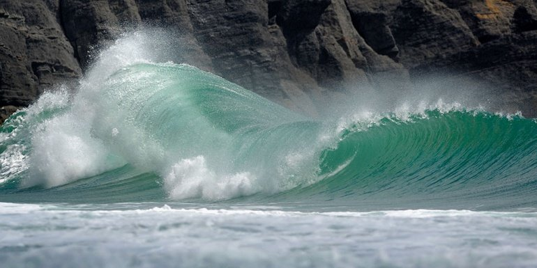 John Wormald's photo of Hells Mouth (Porth Neigwl)