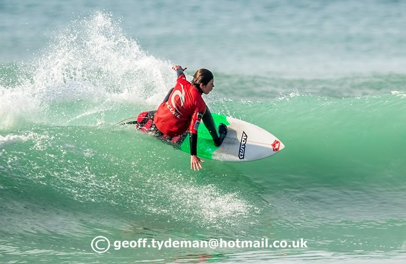 Geoff Tydeman's photo of Newquay - Tolcarne Wedge