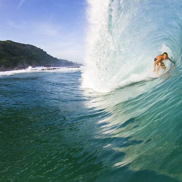Kenneth Krowels Photo Of Surfers Beach Puerto Rico