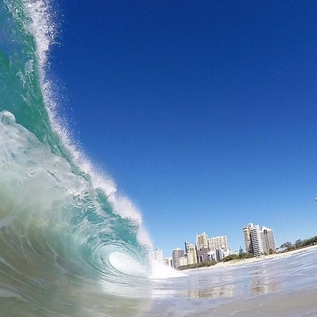 surfers paradise gold coast surf report surf forecast and live