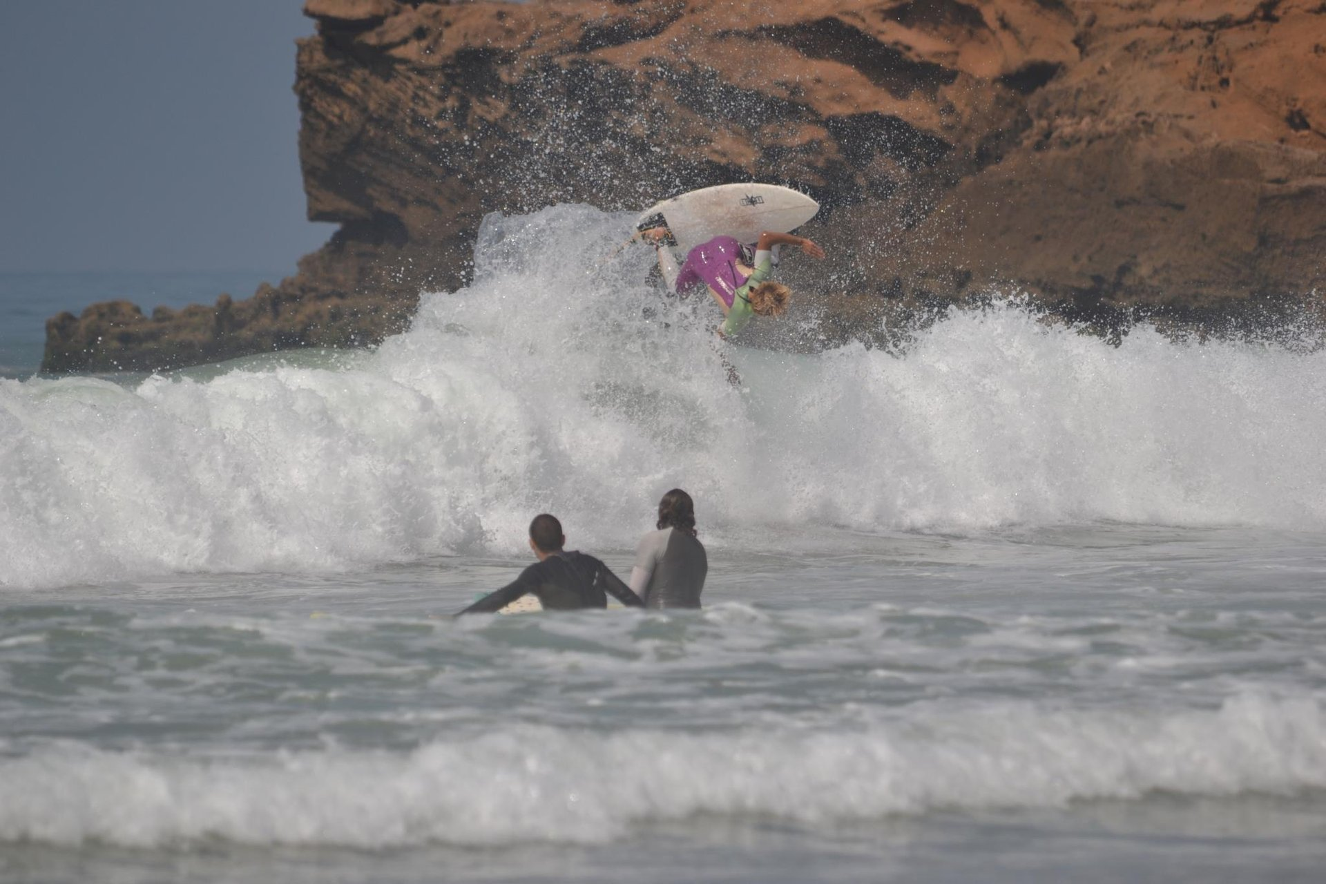 Surf Town Morocco's photo of Devils Rock