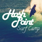 Hashpoint Surf Camp and Surf School Logo