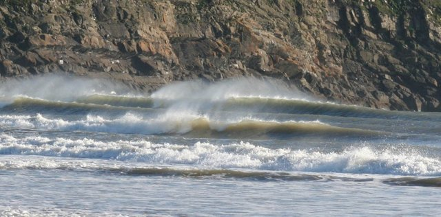 brayer's photo of Hells Mouth (Porth Neigwl)